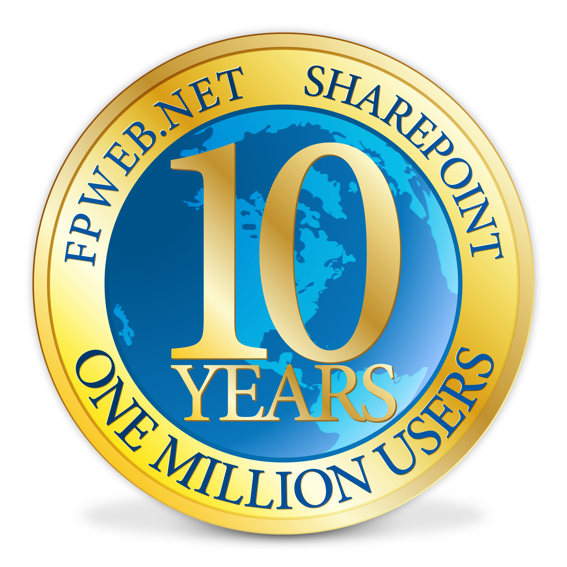 10 years of SharePoint seal