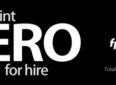 Hero For Hire Tradeshow Banner