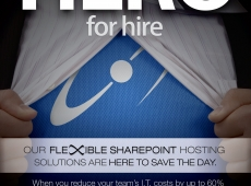 Hero for Hire Advertisements