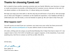 Fpweb.net 2011 Email Template