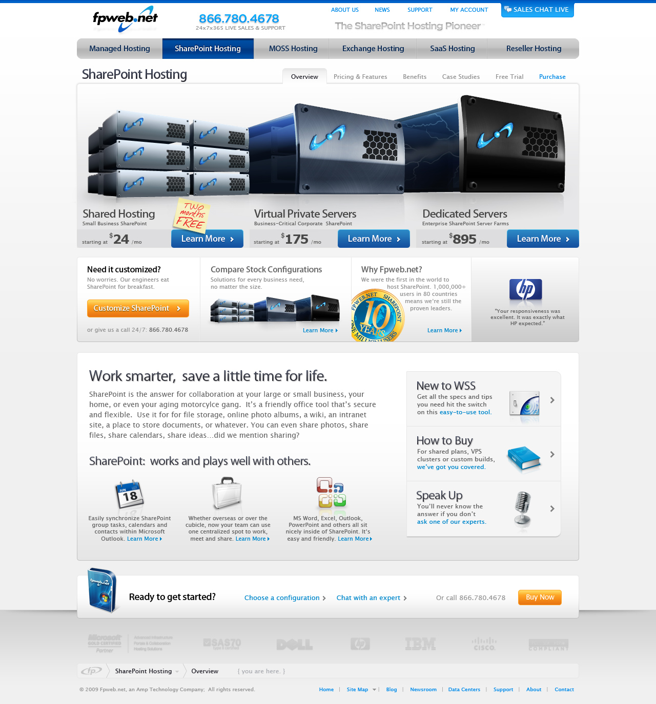 SharePoint Server Landing Page Layout