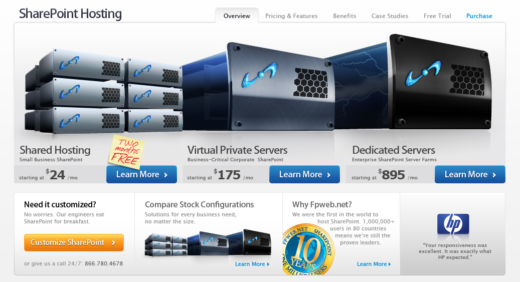 SharePoint Server Landing Page Top Fold