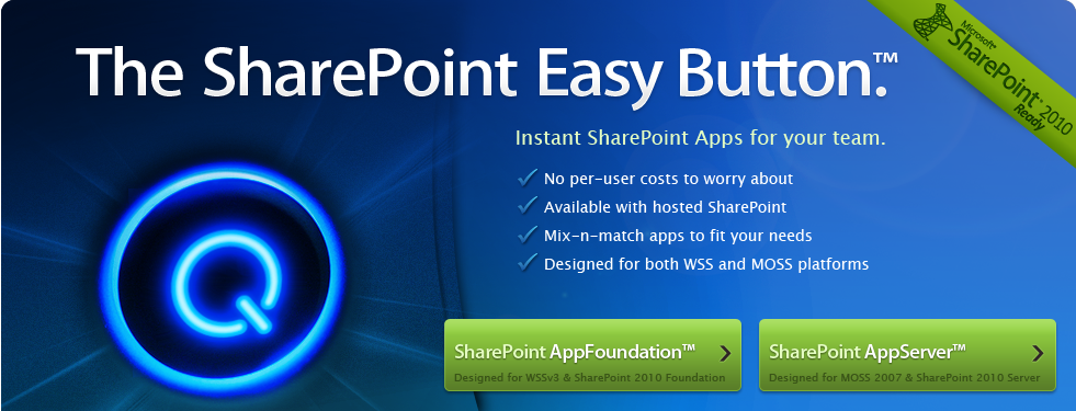 The SharePoint Easy Button