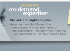 On Demand Expertise Website Footer Concepts
