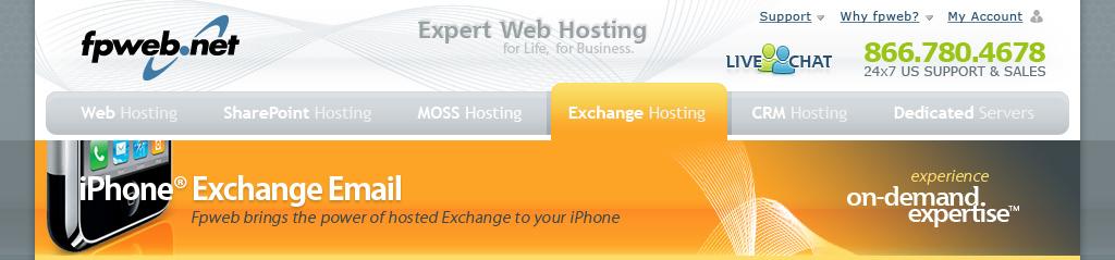 Mobile Exchange Header - iPhone