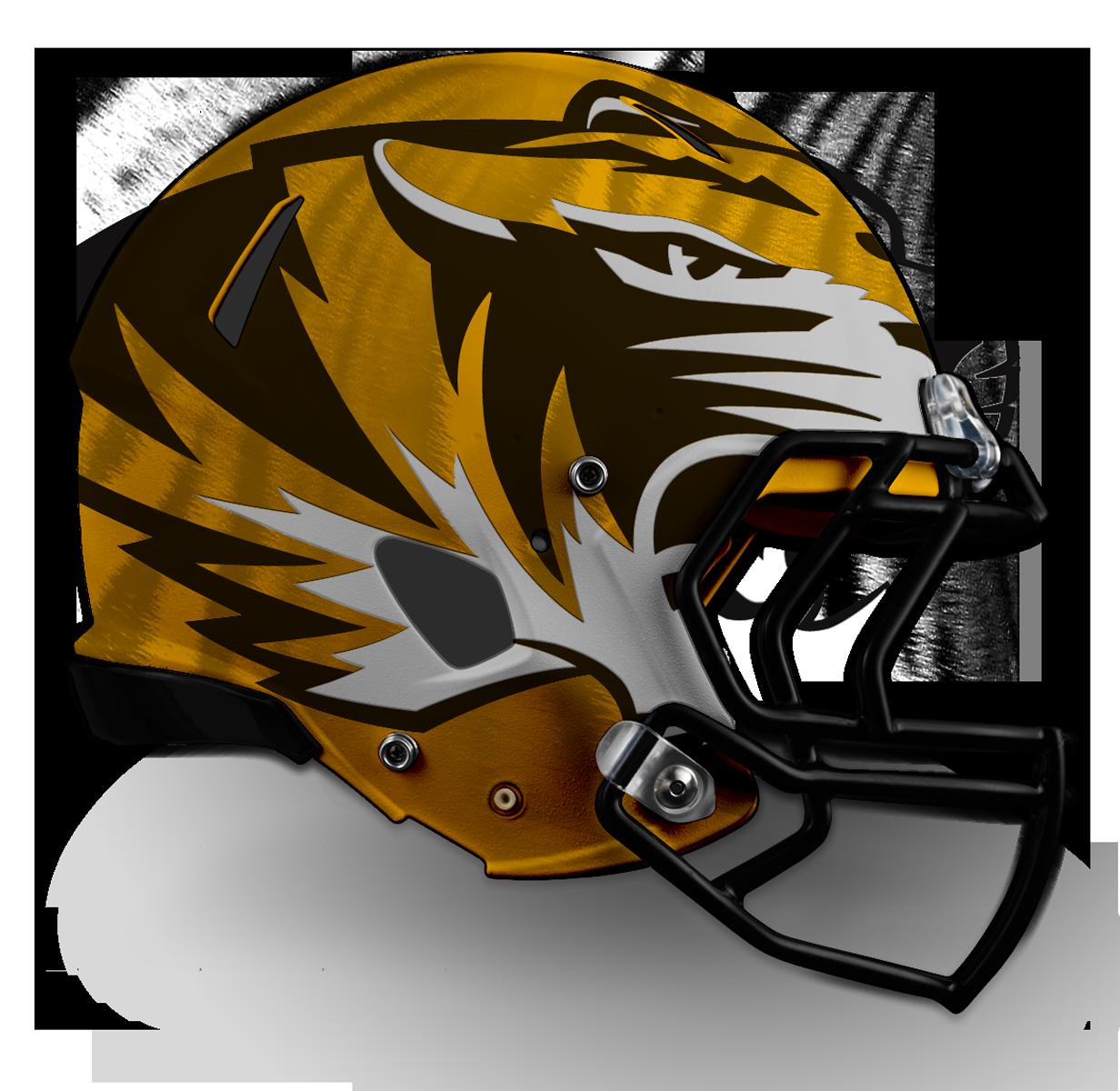 v1 - Large Tiger on Gold w/ Stripes