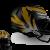 v1 - Large Tiger on Black w/ Front Concept Thumbnail