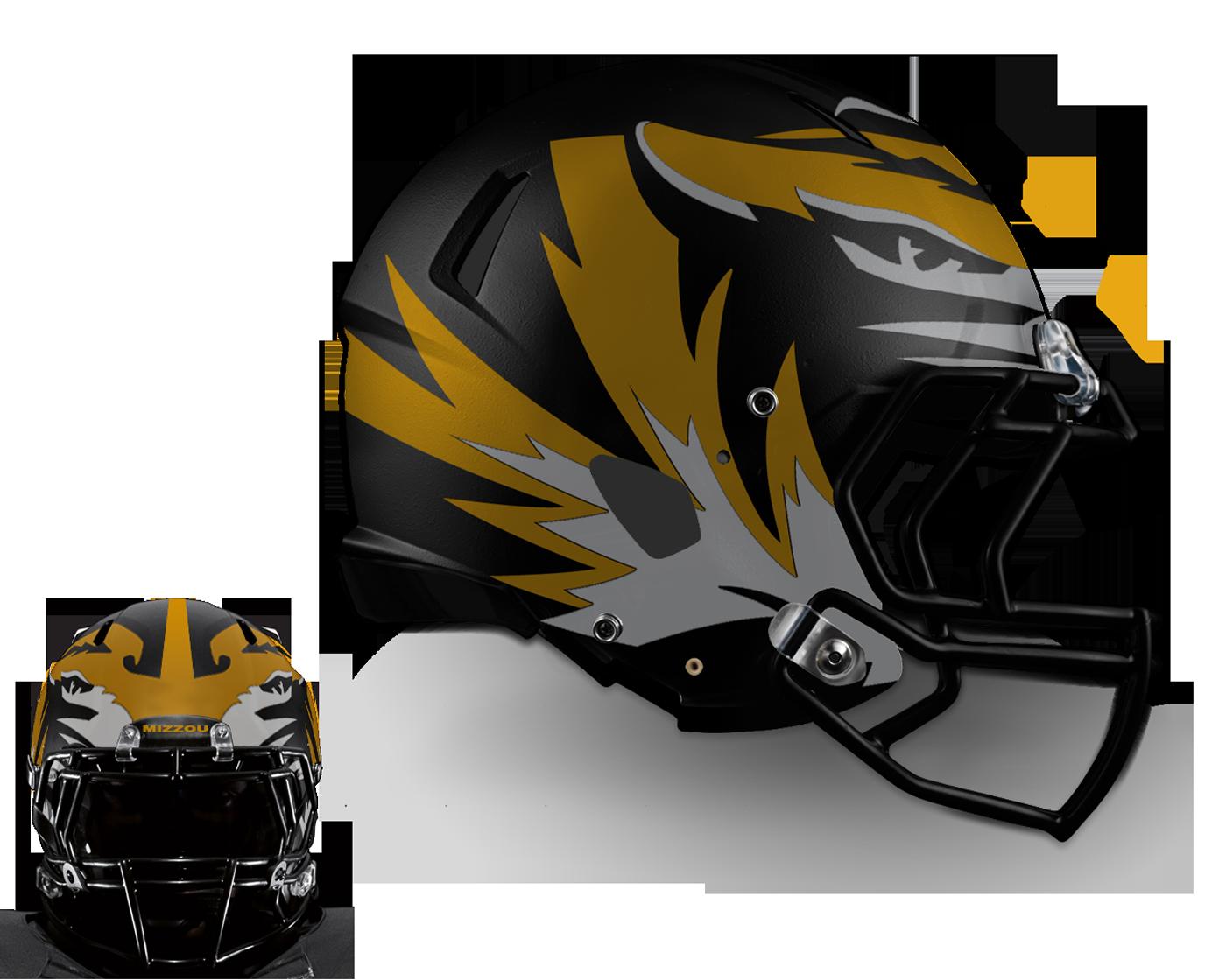 v1 - Large Tiger on Black w/ Front Concept