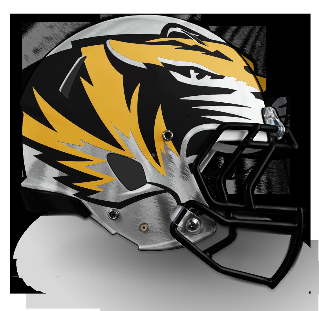 v1 - Large Tiger on White w/Stripes